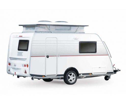 Kompakt caravan